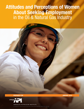 Attitudes and Perceptions of Women About Seeking Employment in the Oil & Natural Gas Industry Report